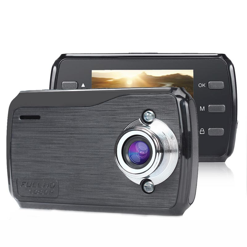 2.4 Inch High - Definition LED Screen Car Recorder K50 Night Vision Driving Recorder Cycle Record Dash Cam