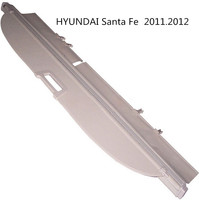 For HYUNDAI Santa Fe 2011.2012 Rear Trunk Security Shield Cargo Cover High Quality Car Trunk Shade Security Cover