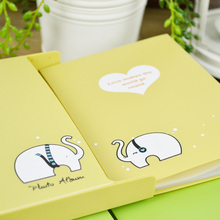 6 inch Creative Party Animal Cartoon DIY Album Interstitials Photo Album Kits Baby Album