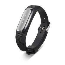 Couvercle De Protection En Acier inoxydable Titulaire Cas + Sangle pour Xiaomi Mi Bandes 1 S/1A Silicone Poignet Bracelets pour le Fitness Tracker