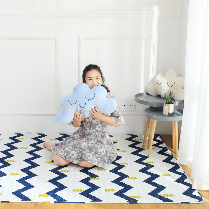 Infant Shining TaTaMi Baby Play Mats Nordic style Cotton Blanket Kid's Puzzle Exercise Rug Bedroom Carpet Machine Washable пледы и покрывала vladi плед снежинка 140х200 см