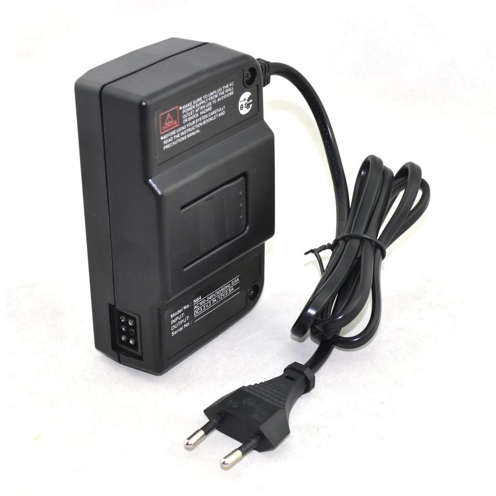 EU-stikadapter strømforsyning til Nintendo til N64
