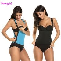 Neoprene Sweat Sauna Hot Body Shaper Fat Burner Top Workout Vest Waist Trainer Control Tummy Weight