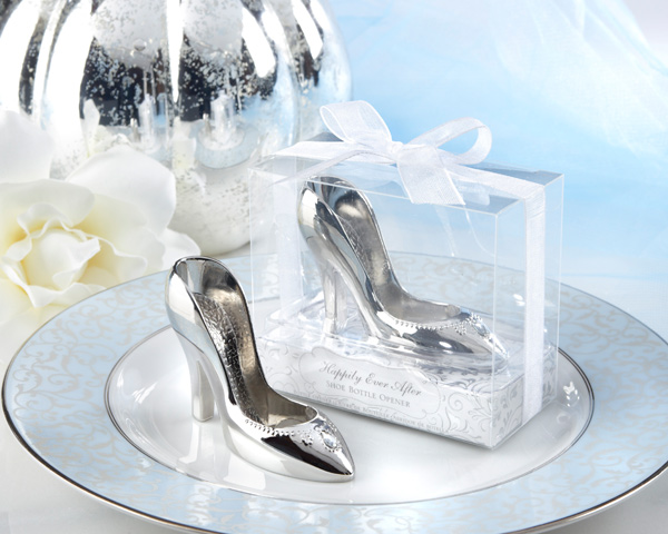 e6857ca42a0c 12PCS LOT Factory price Free shipping High-heeled Cinderella shoe bottle  opener wedding bridal shower favor party gifts