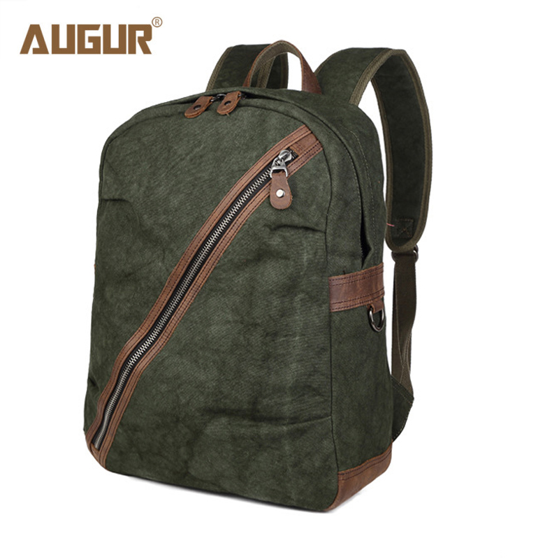 AUGUR New Fashion Men Backpack High Quality Canvas School Bags For Teenagers Large Capacity Travel Laptop Bag School Backpacks 2017 vintage men women canvas backpacks school bags for teenagers boys girls large capacity laptop backpack fashion men backpack