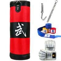 ZOOBOO 100cm Training Fitness MMA Fighter Boxing Bag Hook Hanging Bag Sport Sand Punching Bag Sandbag Saco
