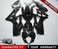 ZXMT мотоцикл обтекатель комплект подходит для Suzuki GSX R1000 GSXR 1000 2007 2008 K7 черный матовый черный блеск ABS Пластик кузов