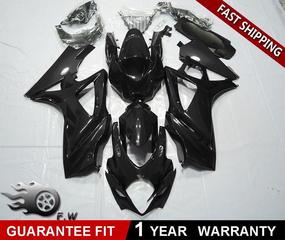 ZXMT motorcycle Fairing Kit Fit for Suzuki GSX-R1000 GSXR 1000 2007 2008 K7 Matte Black Gloss Black ABS Plastic BodyworkZXMT motorcycle Fairing Kit Fit for Suzuki GSX-R1000 GSXR 1000 2007 2008 K7 Matte Black Gloss Black ABS Plastic Bodywork