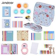 Andoer Pu Beschermende Camera Case Bag Pouch Protector Voor Fujifilm Instax Mini 8 8 + 8 S 9 Mini 9 instax Camera Tas 2018 Nieuwe