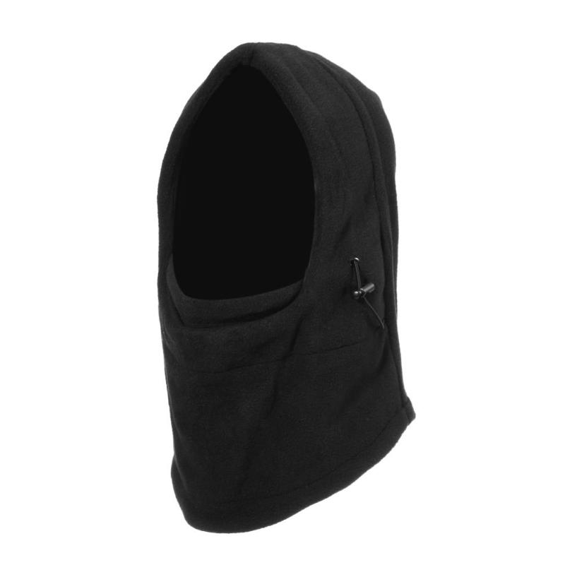 2019 Winter Fleece Full Face Mask Cap Unisex Scarf Neck Warmer Face Mask Skiing Cycling Hiking Mask Hat Outdoor Sports Hats