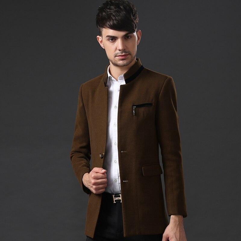 Online Shop 2015 Newest Autumn Winter Woolen Coat Thicken Young ...