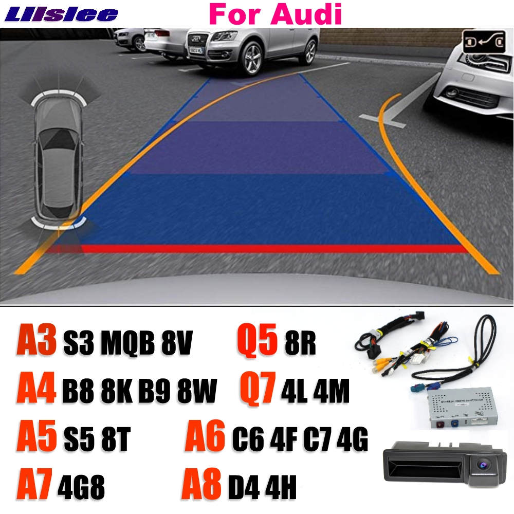 Liislee Reversing Camera Interface Backup Original Monitor Upgrade For MMI System For Audi A3 S3 A4