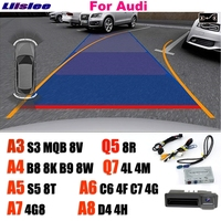 Liislee Reversing Camera Interface Backup Original Monitor Upgrade For MMI System For Audi A3 S3 A4 A5 S5 A6 A7 A8 Q5 Q7