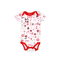 4 Color Baby Summer Clothes Newborn Bodysuits Short Sleeved Cotton Toddler Underwear Infant Clothing Baby Girls Outfit Bodysuit