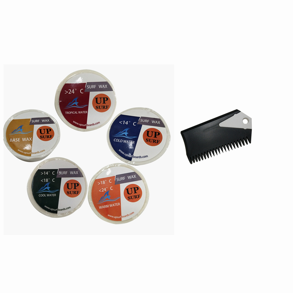 Surf wax 2pcs Wax Base Wax/Warm Wax/Cold Wax/Cool Wax/Tropical +surf comb Surfboard High quality
