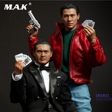 1/6 EB ENTERBAY Art Studio God of Gamblers Ko Chun Chow Yun SR6801/SR6802 Andy Lau Figure doll with Accessories full set figure collectible full set figure 1 6 god of gamblers film asia gao jin chow yun fat little knife lau andy collection for fans gift