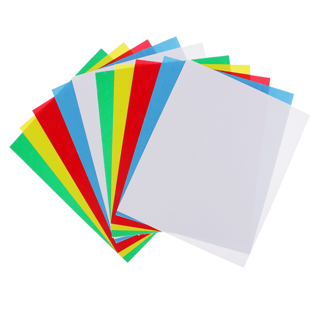 10 Pieces Washable Tracing Paper Sheet Sewing Transfer Paper For Pattern Marking