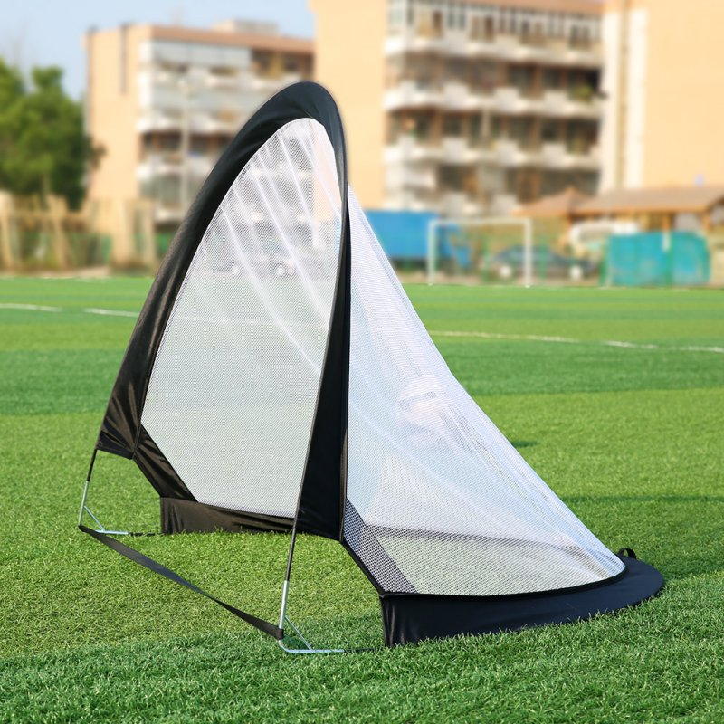 1pc Portable Foldable Outdoor Sports Game Soccer Goal Net Training Football Net Tent Kids Indoor Outdoor Play Toy