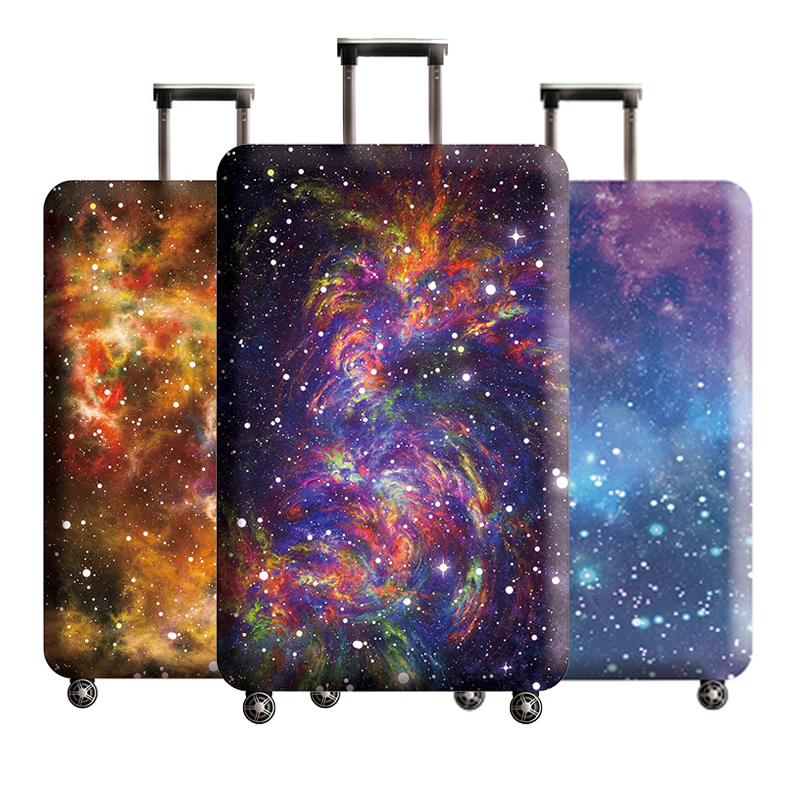 Luggage Protector Cover Suitcase Elastic Protective Cover Trolley Case Dust Cover For 18-32 Inch Traveling Accessories H189
