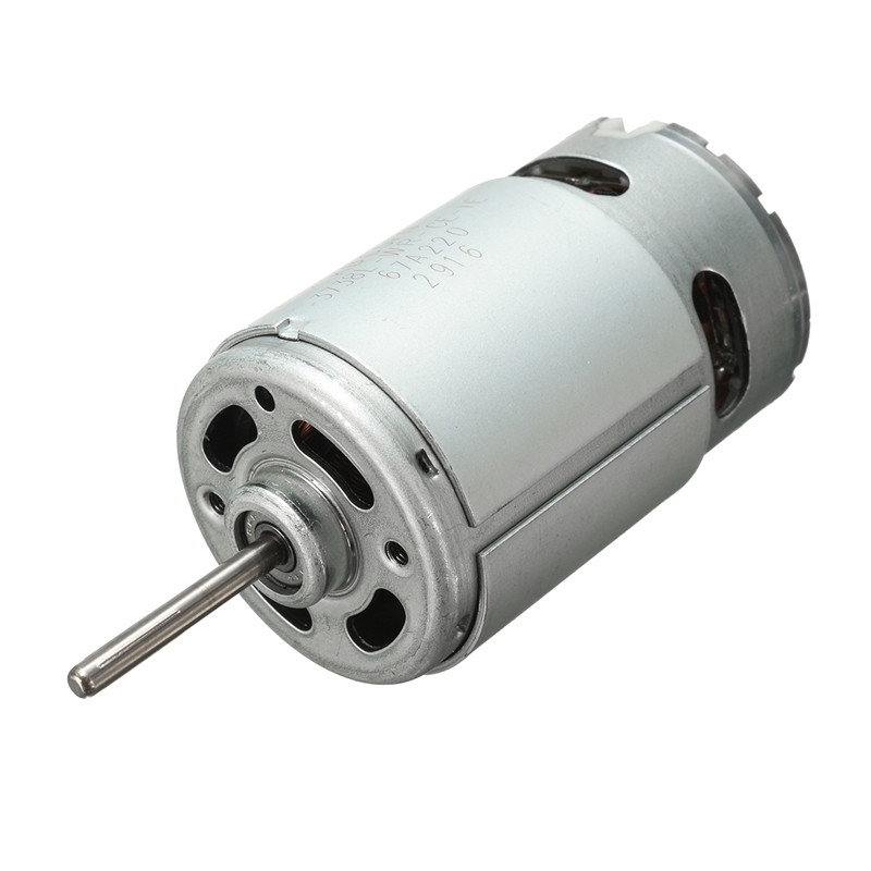 555 Dc Motor 12 24v Large Torque Drill Ball Bearing