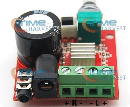 Good quality 12V 10W*2 Class D power HiFi mini digital amplifier board for arcade cabinet/amusement coin operated game machine