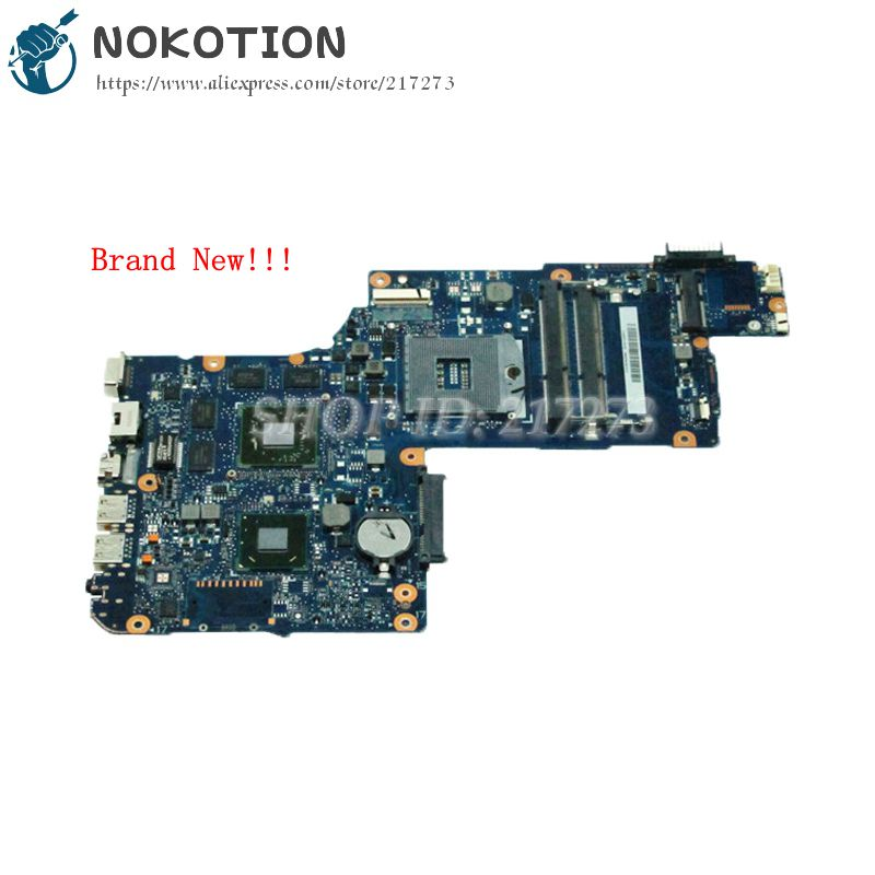 NOKOTION Brand New H000041560 Laptop motherboard For Toshiba satellite L870 C870 MAIN BOARD HM76 DDR3 HD7600M Video card