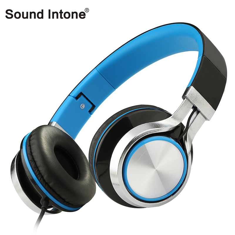 Sound Intone MS200  Stereo Headsets with MIC Bass Wired Headphones Mobile Phones Computer Mp3 Foldable High-end Brand Earphones hot high quality sports stereo earphones with mic 3 5mm universal use for mobile phones mp3 mp4 gg11101