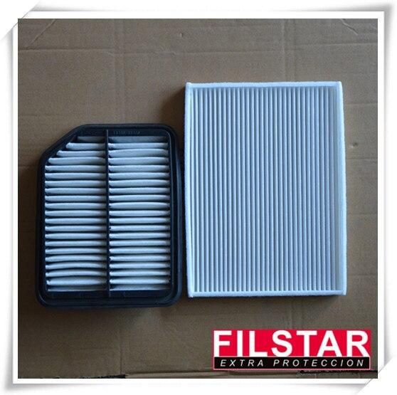 Brand New Filter Service Kit for Suzuki Grand Vitara 2005-2015 Air Filter+ Actived Carbon Filter 13780-65J00 95861-64J00