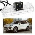 1 ШТ. 170 градусов Заднего Вида обратный парковочная Камера резервного копирования автомобиль LED номерного знака Для Porsche Cayenne