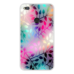 """Image 3 - Huawei P9 Lite 2017 Cover Case 5.2"""" P8 Lite 2017 Phone Case Silicone Huawei Honor 8 Lite Cases Flowers Pattern Funda"""