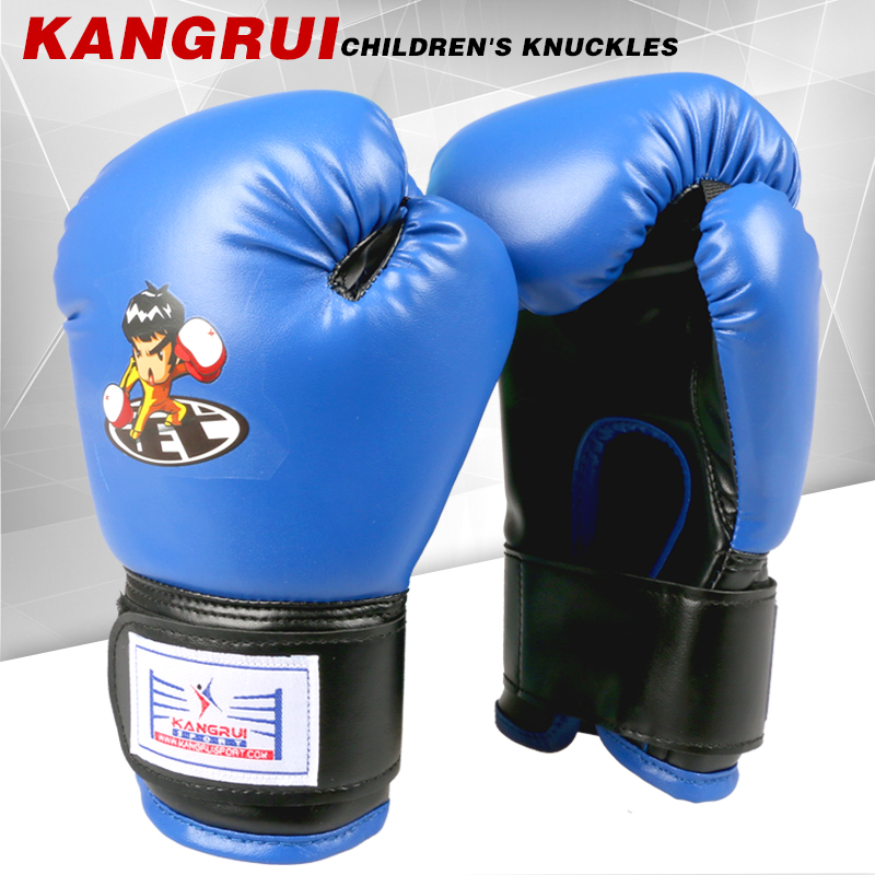 2016 új kiváló minőségű műbőr 8oz Gyerek boksz-kesztyű - Sportruházat és sportolási kiegészítők