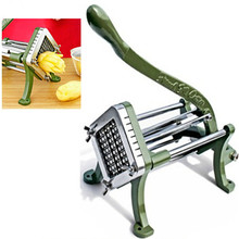 French Fries Potato Chips Strip Cutting Cutter Machine Maker Stainless Steel Slicer Chopper Dicer Kitchen Tools