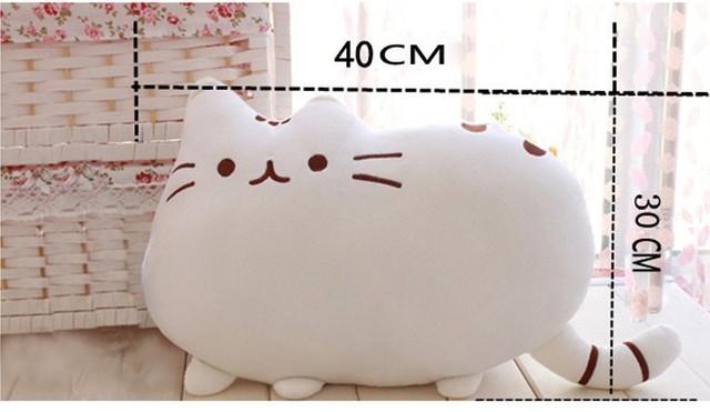 Kawaii Pusheen Cat Pillow