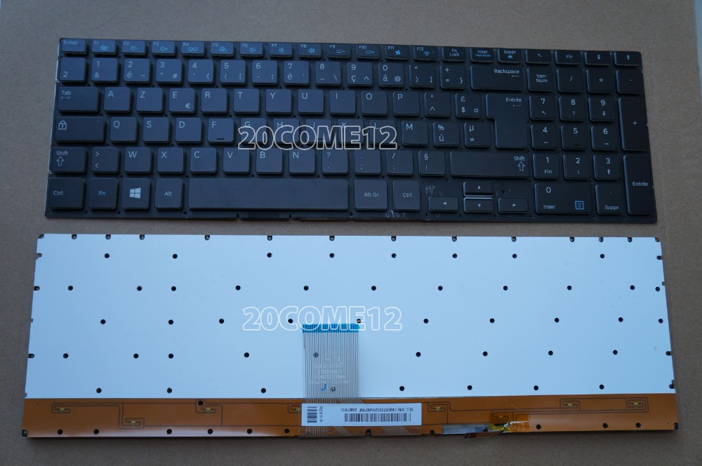 New notebook Laptop keyboard for Samsung 770Z7E NP770Z7E  French/Fr  layout new laptop keyboard for asus 0kn80 1120fr00 black windows 8 french layout