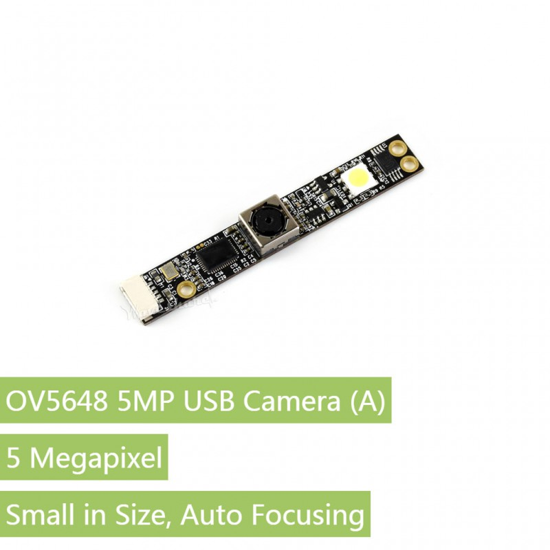 OV5648 5MP USB Camera High Definition Small in Size Auto Focusing Driver Free