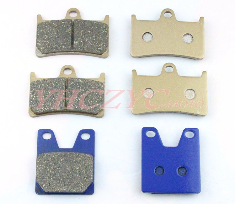 For YAMAHA YZF R7 5FL1 99-01 YZF R1 98-01 motorcycle front and rear brake pads set Motorcycle Parts motorcycle parts front