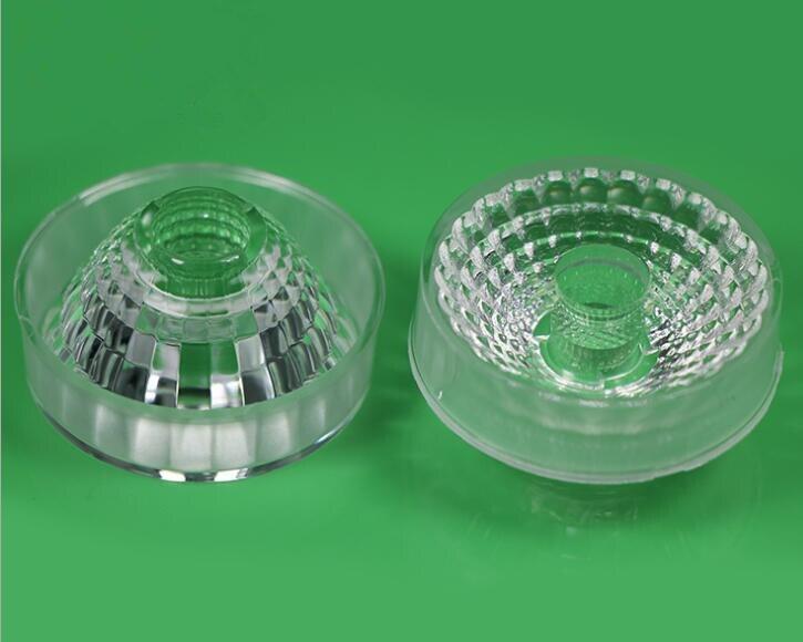 GPHX-43 Высококачественная линза COB, Размер линзы: 43X22,5 мм, 30 градусов, чистая поверхность, pmma-материалы
