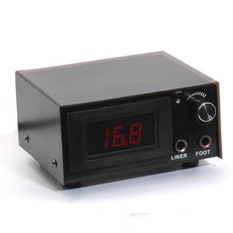 Professional Newest Dual Digital Lcd Power Supply Tattoo Power