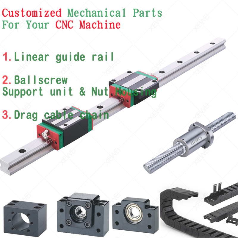 Customized Mechanical Parts for your CNC Machine