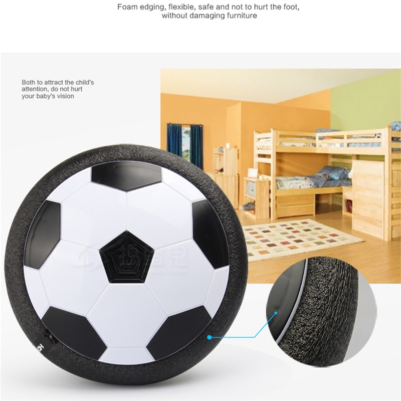 Air Power Soccer Ball Disc Indoor Ourdoor Hover Football Led Lighting Toy Multi-Surface Children Boys Girls Sport Toys Training