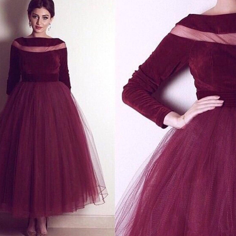 burgundy-velvet-evening-gown-2019-a-line-prom-dresses-with-long-sleeve-boat-neck-long-formal-pageant-gowns-vestidos-de-noiva-ankle-length_