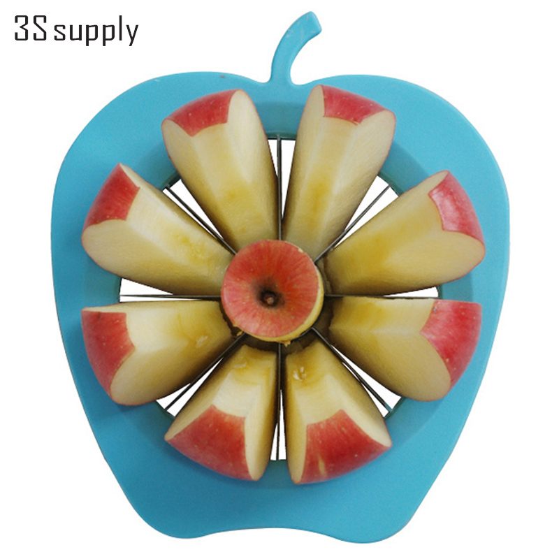 Multifunction  Kitchen Gadgets Stainless Steel Apple Pear Slicer Vegetable Fruit