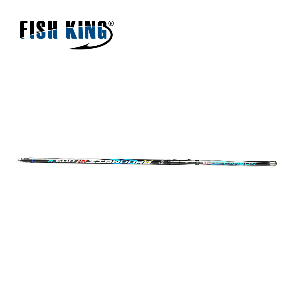 FISH KING 24T Carbon C.W 5-25G 4-6 Secs Contraction Length 122-124cm Rock Fishing Rod Spinning Casting Rod Carp Lure Sea Fishing