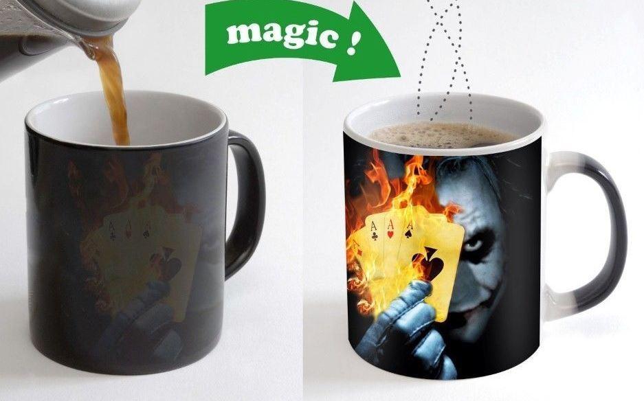 Joker Poker Card Cool Morphing Coffee Mugs Transforming