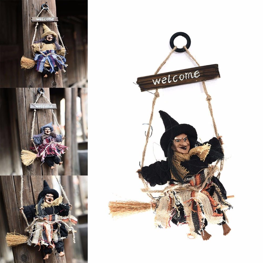 Halloween Hanging Pendant Witch Hanging Decor Party
