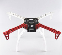 New F450 450 Quadcopter Multi Copter Frame Kit W Black Tall Landing Gear Skid For Dron