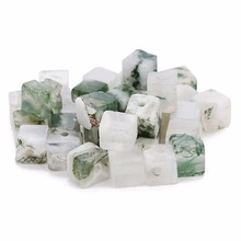 Louleur Approx 80 pcs 4x5mm Natural Stone Green and White Square Bead Loose Beads For Jewelry Making Fit DIY Bracelet Necklace DIY Jewelry Making For Beginner natural stone chrysocolla approx 14x16mm oval shape loose beads approx 39cm diy jewelry making bracelet necklace