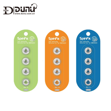 DUNU SpinFit CP145 Patented 360 Degree Free Rotation Silicone Ear tips 4.5mm Nozzle Dia for DUNU/Onkyo/KZ/TENNMARK Earphones