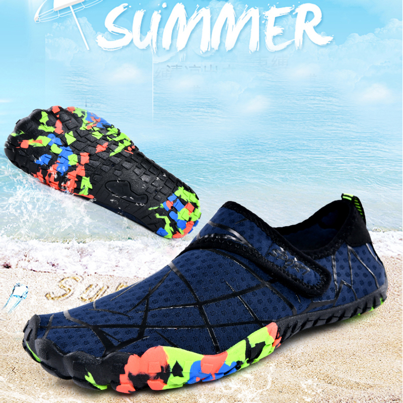 2019 Barefoot Five Fingers Shoes Summer Water Shoes For Men Outdoor Lightweight Men Aqua Shoes Fitness Sports Sneakers For Kids