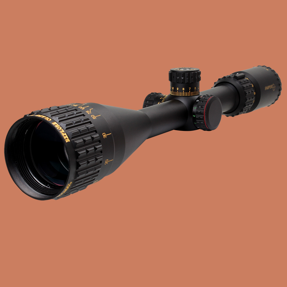 SNIPER NT 6-24X50 AOGL Hunting Tactical Optical Sight Full Size Glass Etched Reticle RGB llluminate Rifle Scope with Large Lens sniper white version of the sniper 6 24x50aol traffic light mil dot sight optical cross earthquake sniper scope